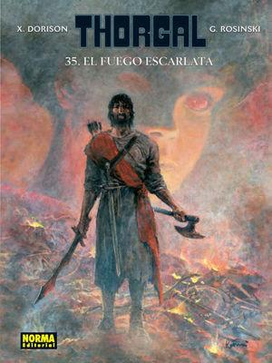 133 EL FUEGO ESCARLATA - THORGAL 35