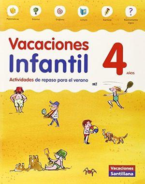 4AÑOS VACACIONES INFANTIL 4 AÑOS