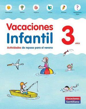 3AÑOS VACACIONES INFANTIL 3 AÑOS