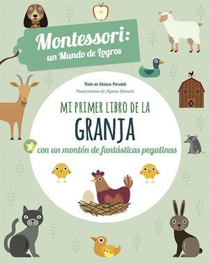 EL PRIMER LIBRO DE LOS ANIMALES DE GRANJA (VVKIDS)