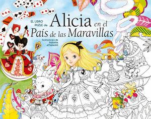 ALICIA EN EL PAIS DE LAS MARAVILLAS LIBRO-PUZZLE