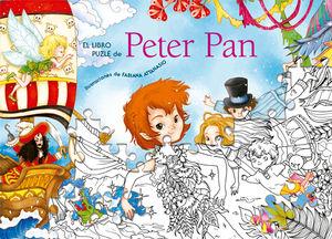 PETER PAN (VVKIDS) LIBRO PUZZLE VICENS