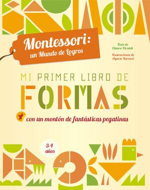 MI PRIMER LIBRO DE FORMAS (VVKIDS) MONTESSORI