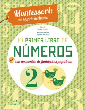 MI PRIMER LIBRO DE NUMEROS (VVKIDS) MONTESSORI