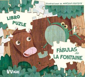 LAS FABULAS DE LA FONTAINE LIBRO PUZLE (VVKIDS)