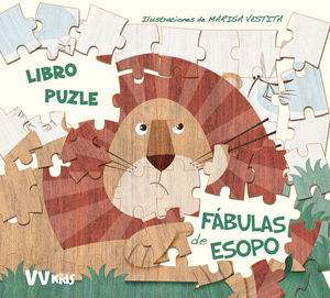 LAS FABULAS DE ESOPO LIBRO PUZLE