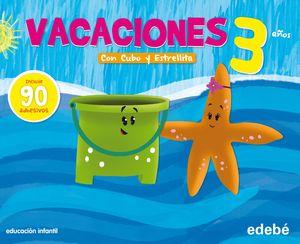 PACK VACACIONES 3 AÑOS