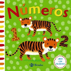 NÚMEROS - LIBRO CON RELIEVES - LIBRO DE TACTO