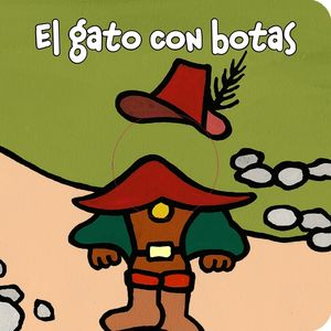 EL GATO CON BOTAS -  LIBRODEDOS - LIBRO MARIONETA  DEDO
