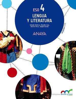 LENGUA CASTELLANA Y LITERATURA 4ºESO. TRIMESTRAL. NO ANDALUCIA/CANARIAS. APRENDE