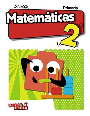 MATEMÁTICAS 2 -PIEZA A PIEZA-