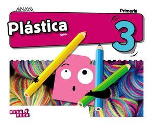 PLÁSTICA 3 PIEZA A PIEZA
