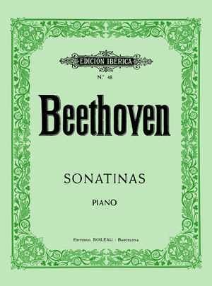 6 SONATINAS PIANO BEETHOVEN