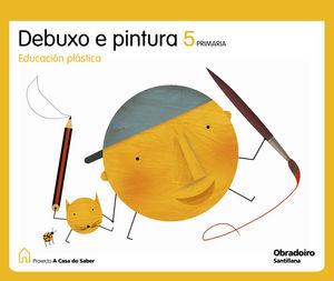 DEBUXO E PINTURA 5 PRIMARIA A CASA DO SABER GALLEGO OBRADOIRO