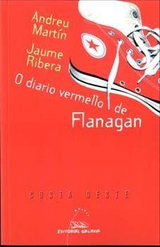 DIARIO BERMELLO DE FLANAGAN. ANDREU MARTIN/JAUME RIBERA. GALAXIA
