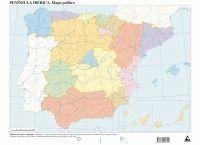 PAQ/50 MAPAS ESPA¥A POLITICO MUDOS