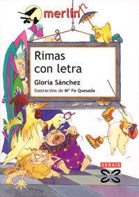 RIMAS CON LETRA - GLORIA SANCHEZ - XERAIS/MERLIN
