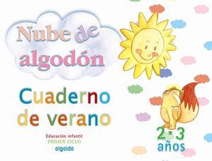 CUADERNO DE VERANO 2-3 AÑOS NUBE DE ALGODON ALGAIDA