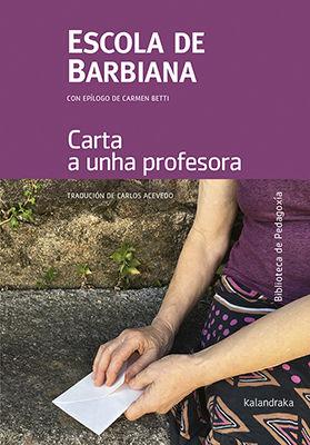 CARTA A UNHA PROFESORA