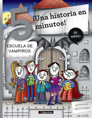 ¡UNA HISTORIA EN 5 MINUTOS! ESCUELA DE VAMPIROS