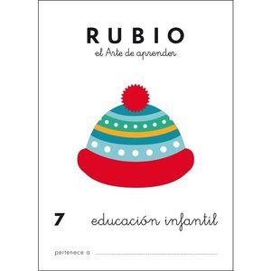 PREESCOLAR RUBIO 7 EDUCACION INFANTIL