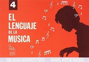 EL LENGUAJE DE LA MUSICA 4 - ANA MARIA NAVARRETE - SDM