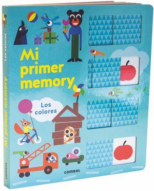 MI PRIMER MEMORY - LOS COLORES - LIBRO PIEZAS MOVILES