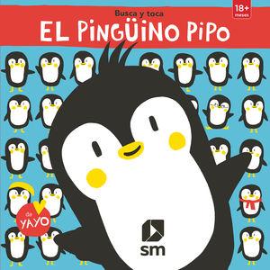 EL PINGÜINO PIPO - BUSCA Y TOCA - LIBRO DE TACTO