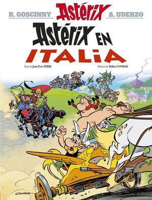 37 ASTÉRIX EN ITALIA -GALLEGO-
