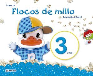 FLOCOS DE MILLO 3 ANOS. MÉTODO COMPLETO