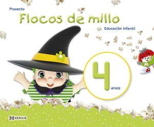 FLOCOS DE MILLO 4 ANOS. MÉTODO COMPLETO