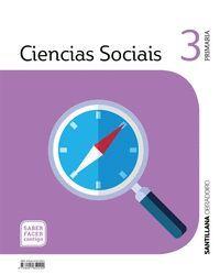CIENCIAS SOCIAIS 3 PRIMARIA SABER FACER CONTIGO