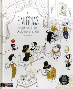 ENIGMAS DESAFIA TU MENTE CON 25 HISTORIAS DE MISTERIO