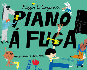 FILIPPA & COMPAÑÍA. PIANO Á FUGA