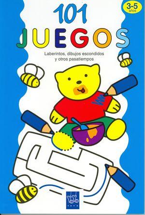 101 JUEGOS 3-5 AZUL