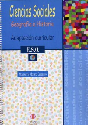 CIENCIAS SOCIALES GEOGRAFIA 1º ESO ADAPCTACION