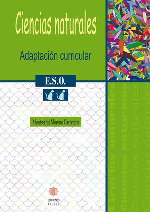 CIENCIAS NATURALES, 2 ESO. ADAPTACIÓN CURRICULAR