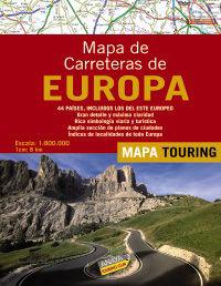 MAPA DE CARRETERAS DE EUROPA 1:800.000