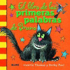 EL LIBRO DE LAS PRIMERAS PALABRAS DE BRUNO