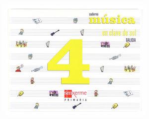 CAD MUSICA 4§EP (G) 08 EN CLAVE DE SOL