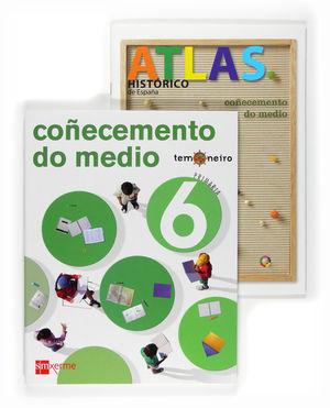 TEMONEIRO, COÑECEMENTO DO MEDIO, 6 EDUCACIÓN PRIMARIA