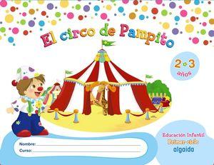 (13).CIRCO DE PAMPITO (2-3 AÑOS) INFANTIL 1ER.CICLO