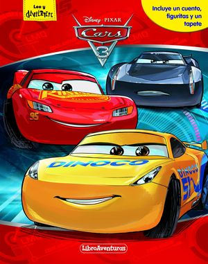 CARS 3 LIBRO AVENTURAS (CUENTO+FIGURAS+TAPETE)