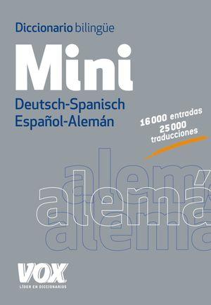 DICCIONARIO MINI ESPAÑOL-ALEMÁN VOX