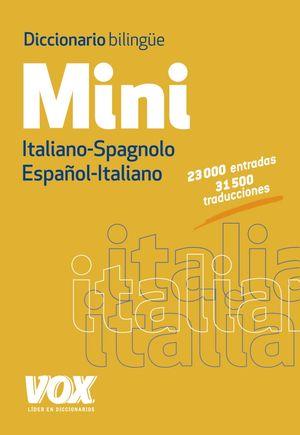 DICCIONARIO MINI ESPAÑOL-ITALIANO/ITALIANO-ESPAÑOL VOX