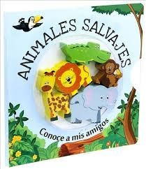 KIT ANIMALES SALVAJES + FIGURAS DE MADERA