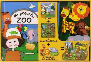 MI PEQUEÑO LIBRO SOBRE EL ZOO LIBRO+ROMPECABEZAS+FIGURA