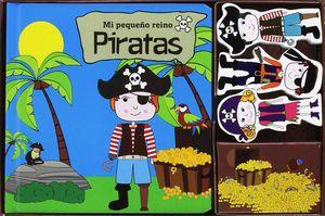 MI PEQUEÑO REINO PIRATAS LIBRO+ROMPECABEZAS+FIGURAS