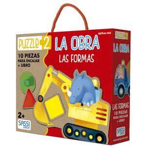 KIT LA OBRA, LAS FORMAS LIBRO + PUZZLE