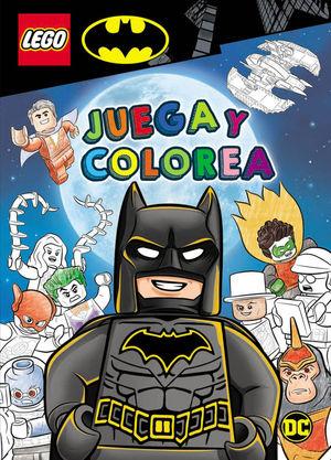 BATMAN LEGO JUEGA Y COLOREA